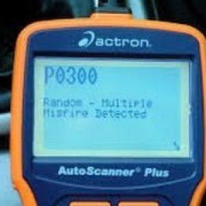 Ошибка P0300 – нарушение порядка зажигания