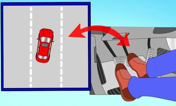 Правила торможения автомобиля с АБС, без АБС на механике