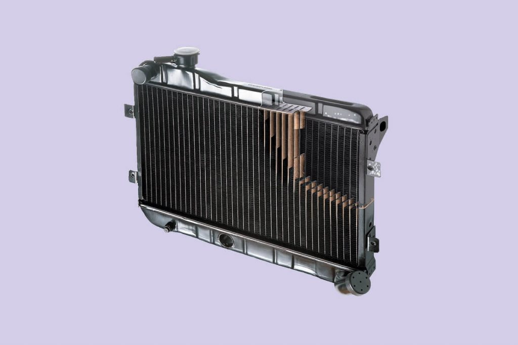 Ремонт радиатора охлаждения двигателя