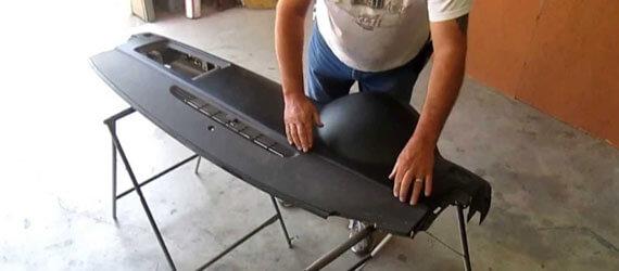 Ремонт торпеды после срабатывания подушек безопасности