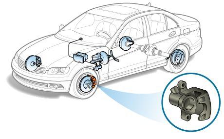 Стучат суппорта автомобиля: диагностика и устранение неисправности