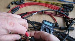 Высоковольтные провода зажигания: способы проверки, виды неисправностей и ремонт