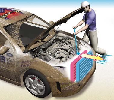 Как промыть и очистить радиатор автомобиля самостоятельно