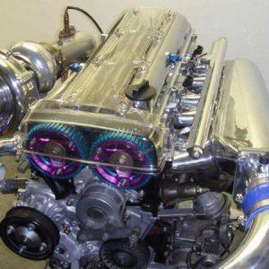 Контрактный двигатель автомобиля