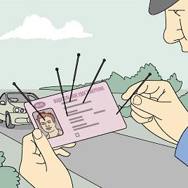 Метки на правах и их значения: какую информацию о водителе они в себе несут