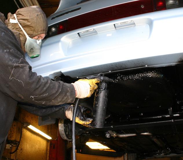Самостоятельная антикоррозийная обработка автомобиля: правила и рекомендации